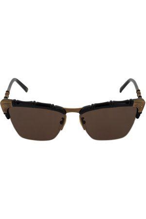 Gucci | Mujer Gafas De Sol Cat Eye Efecto Bambú /café Unique