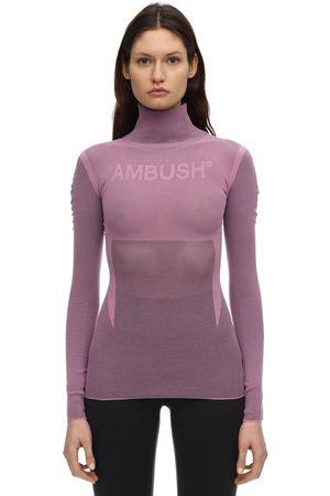 AMBUSH | Mujer Top De Nylon Con Logo 1