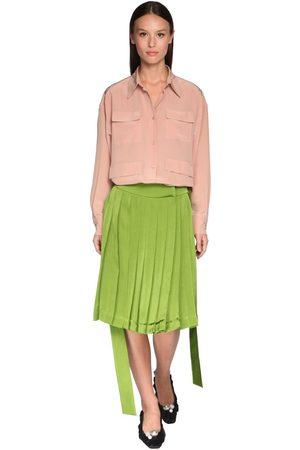 Rochas | Mujer Camisa De Crepé De Seda 38