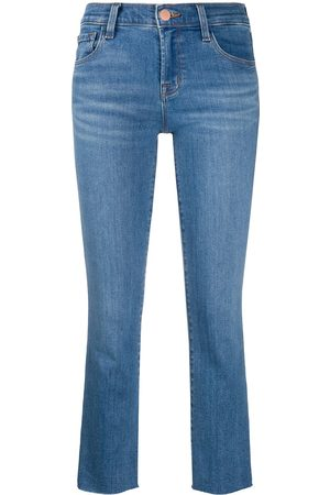 J Brand Alana mid-rise cropped jeans‎