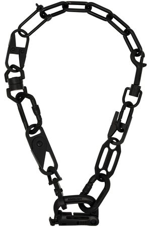 AMBUSH Black Carabiner chain necklace