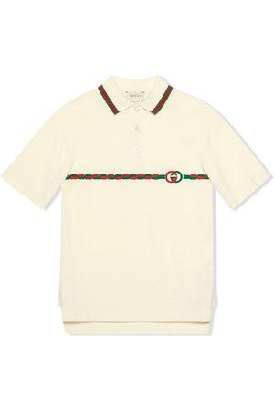 Gucci Polo con G entrelazada