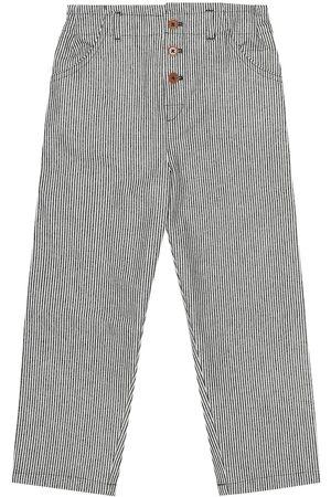 Caramel Pantalones Carnaby de algodón