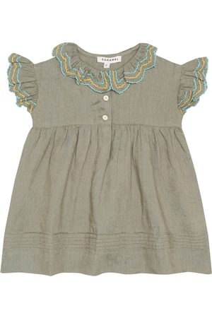 Caramel Bebé Vestidos - Vestido Baby Sloane de lino