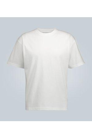 Bottega Veneta Camiseta de algodón cuello redondo