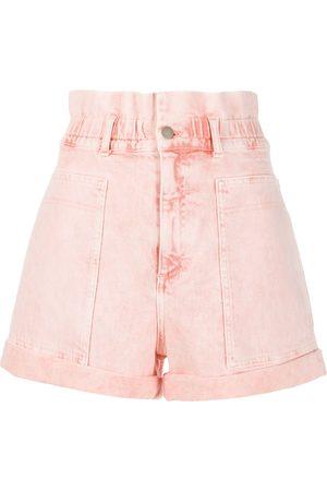 Stella McCartney Mujer Vaqueros - Pantalones vaqueros cortos con talle alto