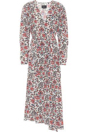 Isabel Marant Vestido Blaine de seda floral