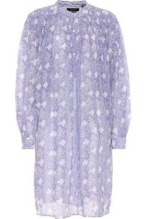 Isabel Marant Vestido Erika de algodón y seda
