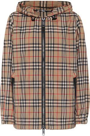 Burberry Chaqueta Vintage Check con capucha