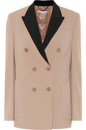 Stella McCartney Blazer de botonadura doble de lana