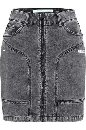 OFF-WHITE Minifalda de jeans