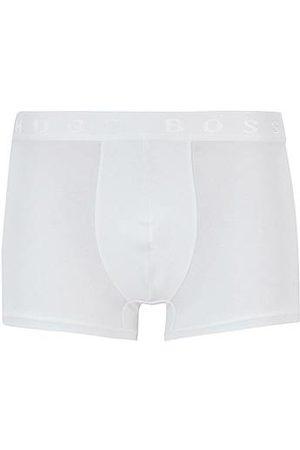 HUGO BOSS Hombre Calzoncillos y Boxers - Calzoncillos de tiro normal de algodón elástico egipcio
