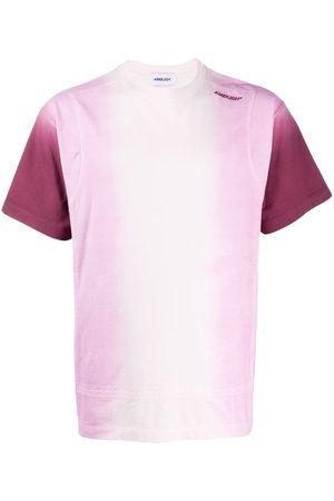AMBUSH Camiseta de manga corta con estampado degradado