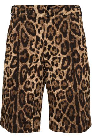 Dolce & Gabbana Bermudas con estampado de leopardo