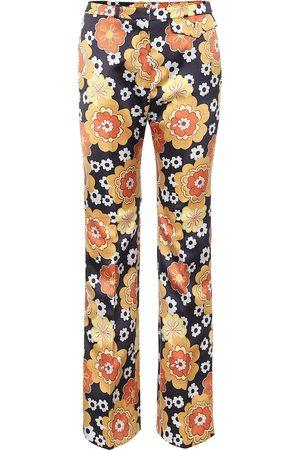 Paco rabanne Exclusivo en Mytheresa – pantalones rectos florales