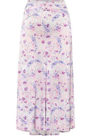 Paco rabanne Exclusivo en Mytheresa - falda de punto fino elastizado floral
