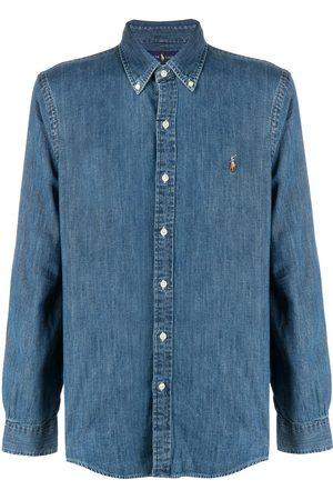 Polo Ralph Lauren Camisa vaquera con botones y logo