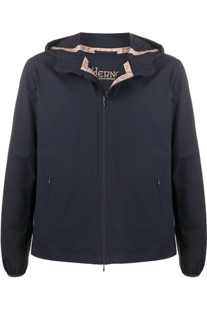 HERNO Bonded-seam hooded jacket