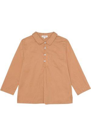 Caramel Camisa Westminster de algodón