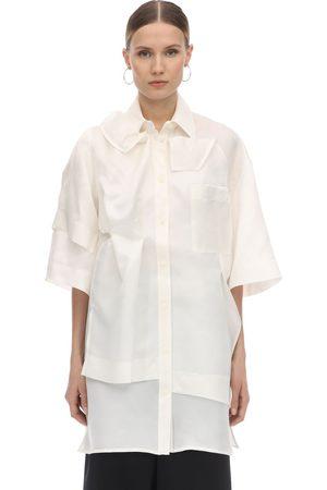 Nina Ricci | Mujer Camisa Asimétrica De Seda 34