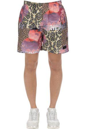 PAM PERKS AND MINI   Hombre Traje De Baño Shorts De Nylon Estampado S