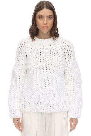 MM6 MAISON MARGIELA   Mujer Suéter De Punto De Algodón S