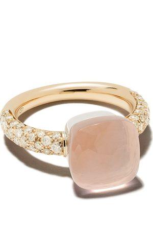 Pomellato Anillo en oro rosa de 18 kt con diamantes