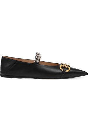 Gucci Horsebit ballerina shoes