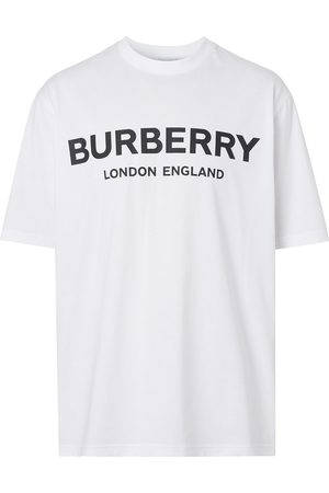 Burberry Camiseta con logo estampado