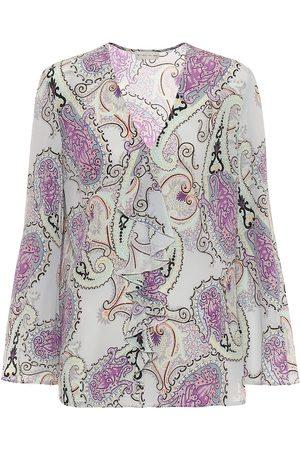 Etro Mujer Blusas - Blusa de seda paisley