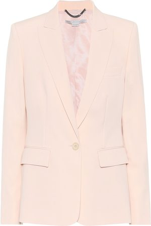 Stella McCartney Blazer Iris de lana elastizada