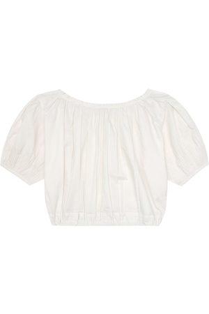 Caramel Blusa Queens Park de algodón