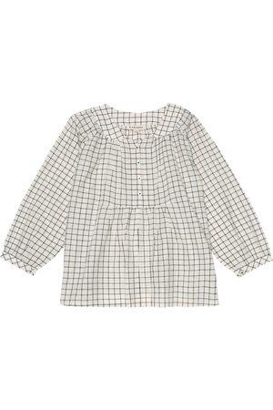 Caramel Camisa Victoria de algodón