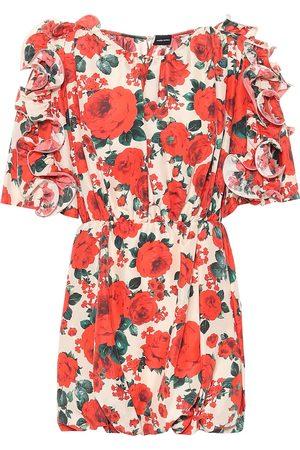MAGDA BUTRYM Vestido Lleida de seda floral