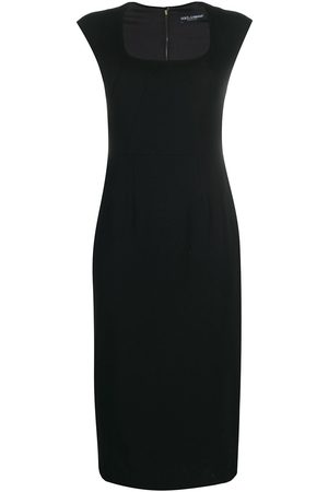 Dolce & Gabbana Vestido ajustado de manga corta