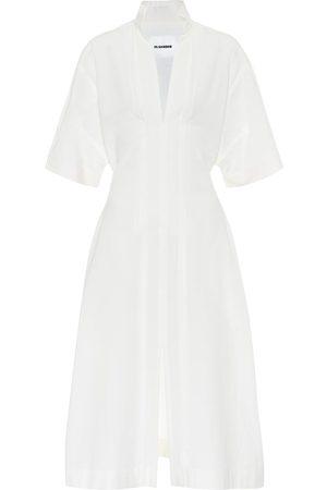 Jil Sander Vestido de algodón