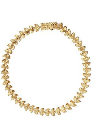 ANNOUSHKA Pulsera Vine en oro amarillo de 18kt con diamantes