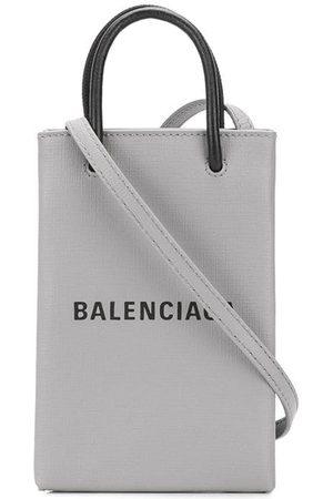 Balenciaga Hombre Bandoleras - Bandolera con logo estampado