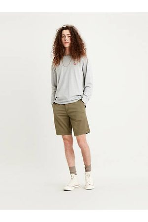 Levi's Hombre Bermudas - Chino Taper Short / Bunker Olive Leather