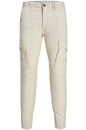 Jack & Jones PAUL FLAKE LINEN AKM 980 PANTALONES CARGO