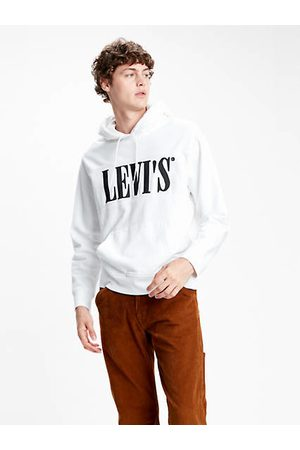 Levi's Hombre Jerséis y sudaderas - Pieced Hoodie Neutre / White/ Forged Iron