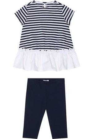 Il gufo Bebé - set de vestido y pantalones