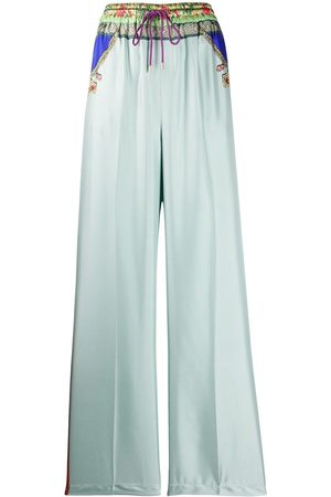 Etro Mujer Pantalones anchos y harén - Pantalones estampados