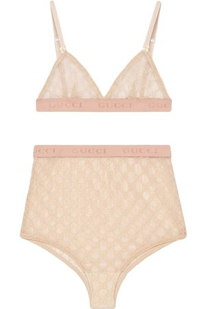 Gucci Lingerie set in tulle GG
