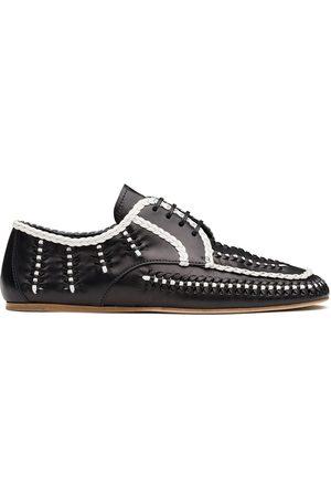 Prada Zapatos con cordones y diseño de dos tonos