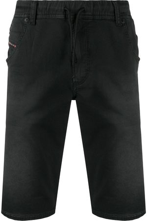 Diesel Pantalones vaqueros cortos con ajuste de cordones