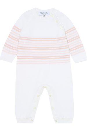 Loro Piana Bebé – body de algodón a rayas