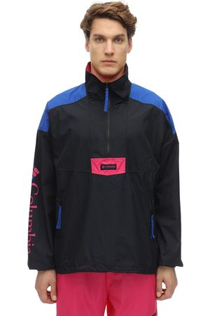 Columbia | Hombre Anorak «santa Ana» De Nylon /blue/pink Xs