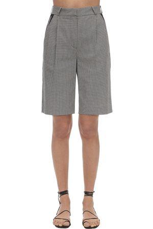 COPERNI | Mujer Loose Cotton Bermuda Shorts /blanco 34