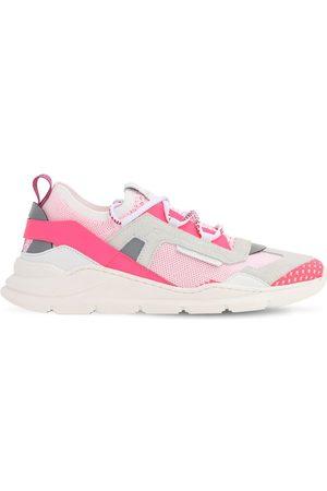 Dolce & Gabbana | Niña Sneakers Slip-on De Punto Y Ante /blanco 34